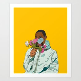 Flower Boy Art Print