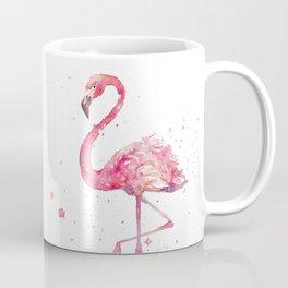 A Flamingos Fancy Coffee Mug