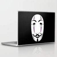 vendetta Laptop & iPad Skins featuring NOFACE FOR VENDETTA by DrakenStuff+
