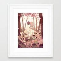 guinea pig Framed Art Prints featuring guinea pig paradise by szerk