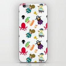 the crew (pattern version) iPhone & iPod Skin