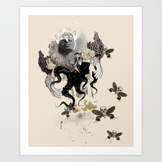 Lust of an Angel Art Print