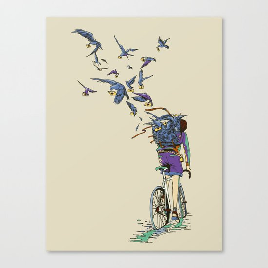 TweetJourney Canvas Print