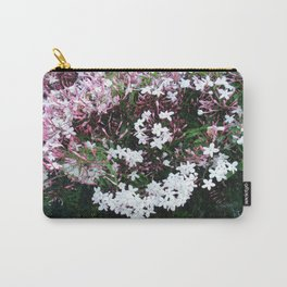 Beautiful Jasmine Flowers In Full Bloom  Carry-All Pouch