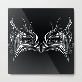 Face Off with the Dragon Metal Print