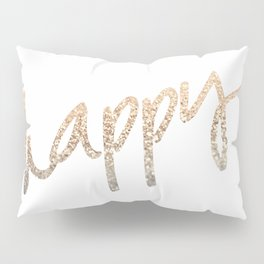 GOLD HAPPY Pillow Sham