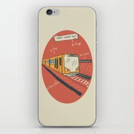 U-BAHN iPhone Skin