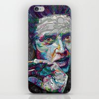 christopher walken iPhone & iPod Skins featuring christopher walken portrait  by Godhead