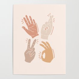 I Don't Know What to Do With My Hands Poster