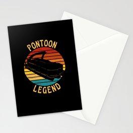 Pontoon Legend  Pontoon Captain Stationery Cards