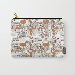 Ditsy Garden Carry-All Pouch