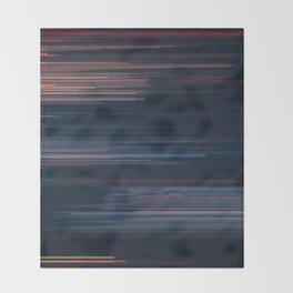 Glitched v.4 Throw Blanket