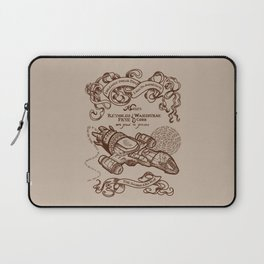 The Smuggler's Map Laptop Sleeve