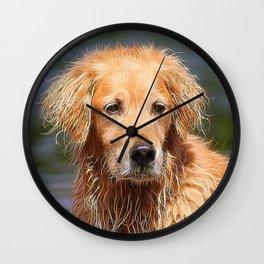 extraordinary animals -Dog 1 Wall Clock