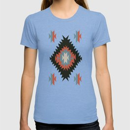 Southwestern Santa Fe Tribal Indian Pattern T-shirt