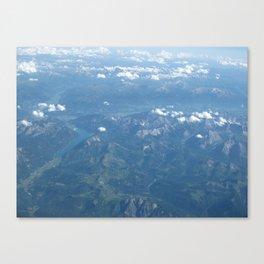 Beauty Below Canvas Print