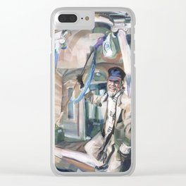 G. Brian Sullivan, Newport's Doctor of Love Clear iPhone Case