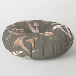 Mushrooms Floor Pillow