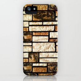 Villa Brickpaper iPhone Case
