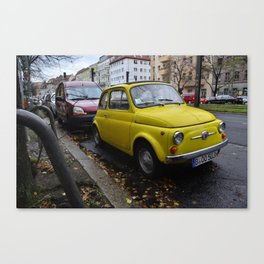 Italian in Berlin Canvas Print