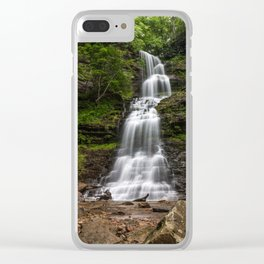 Cathedral Falls, Gauley Bridge, WV Clear iPhone Case