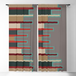 American Native Pattern No. 102 Blackout Curtain
