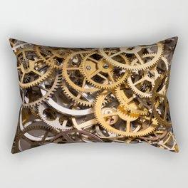 Cogwheels background Rectangular Pillow