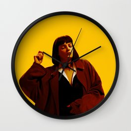 Mia Wallace Wall Clock