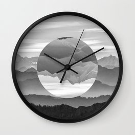 Geo Nature Mountains Wall Clock