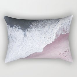 I love the sea - heart and soul Rectangular Pillow