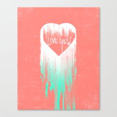 LOVE YEW Canvas Print