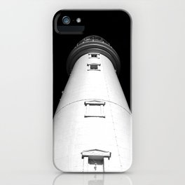 Keep Your Aim High (The Lighthouse) iPhone Case