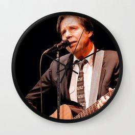 John Doe - Musician and Poet Wall Clock