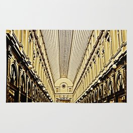 Galeries Royales Saint-Hubert in Brusseles Rug
