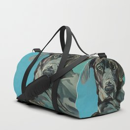 Great Dane Dog Portrait Duffle Bag