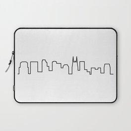 Nashville, TN City Skyline Laptop Sleeve