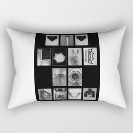 I Love To Drum Rectangular Pillow
