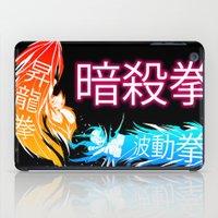 megaman iPad Cases featuring Megaman X Ansatsuken by FuShark