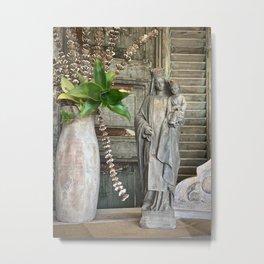 Our Lady of Mt Carmel Metal Print