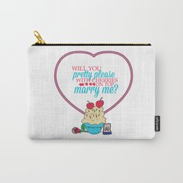 The proposal.. pretty please with cherries on top.. sandra bullock Carry-All Pouch