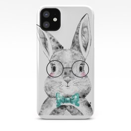 Bunny with Bowtie iPhone Case