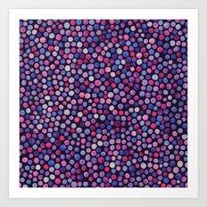 Magical Dots  Art Print