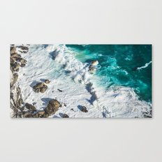 Wave Break - Ocean Shores Canvas Print