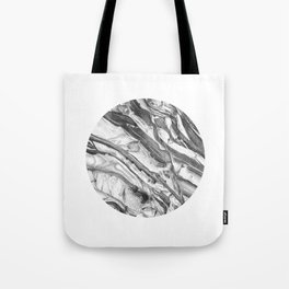 Coastal Rock Circle Tote Bag