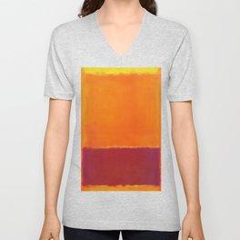 Mark Rothko - Untitled No 73 - 1952 Artwork Unisex V-Neck