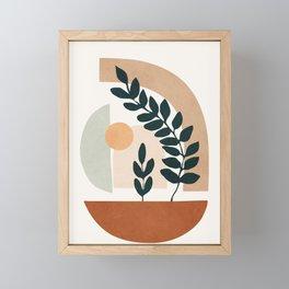 Soft Shapes III Framed Mini Art Print
