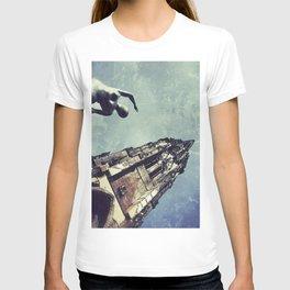 Ruined WW2 Church T-shirt