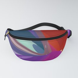 polynomial pattern -6- Fanny Pack