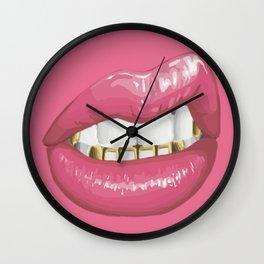 Grillz Wall Clock