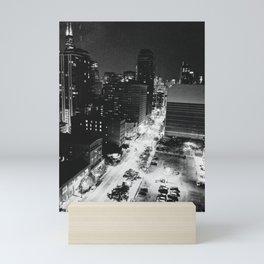 Nighttime Chicago Skyline Mini Art Print
